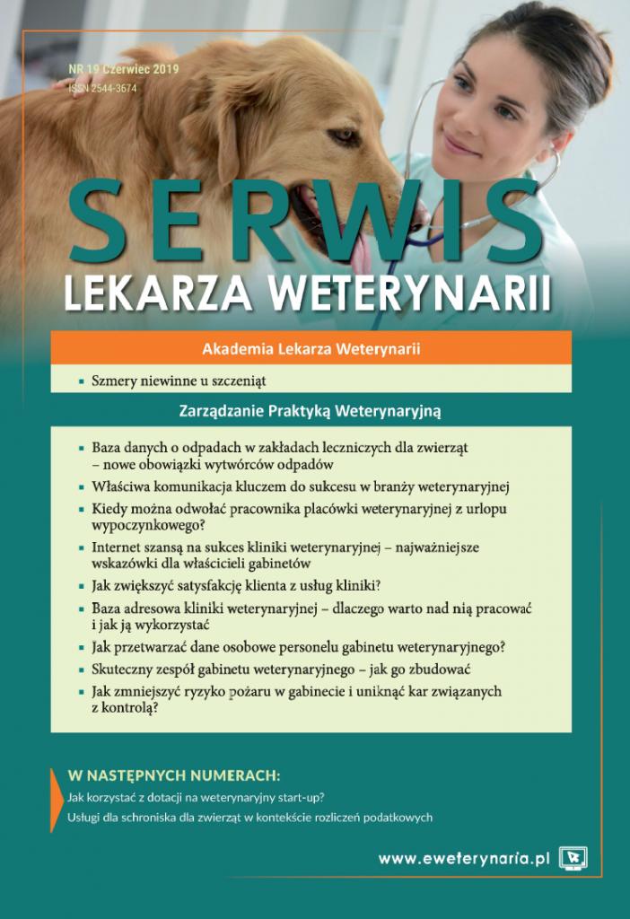 okładka serwis lekarza weterynarii